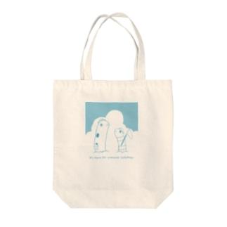 夏を満喫チンアナゴ Tote bags