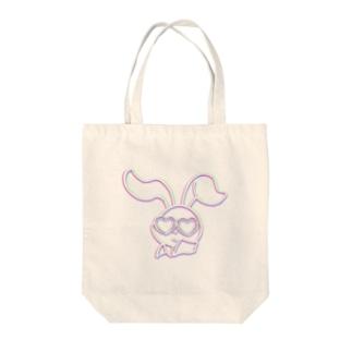 夏うさぎ Tote bags