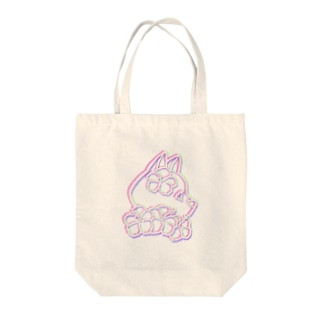 夏おおかみ Tote bags