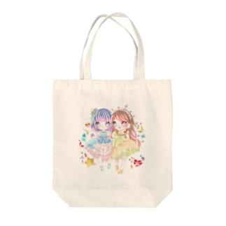 ハル♡ユキ  Tote bags