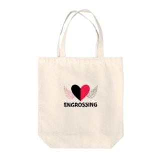 イングロスィンブラック Tote bags