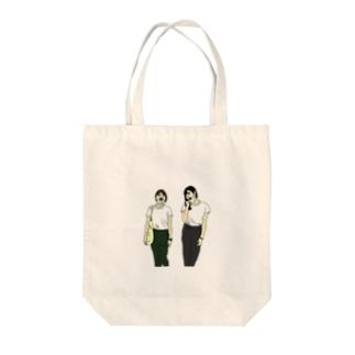 ベストフレンズ Tote bags