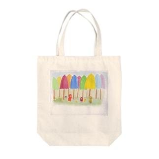 雨の国 Tote bags