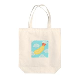エビFLY Tote bags