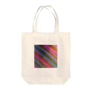 和紙_パープルライン Tote bags