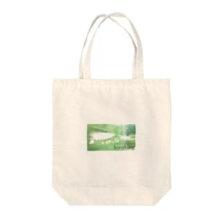 みどり(きらきら) Tote bags