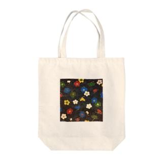 和紙_お花 Tote bags