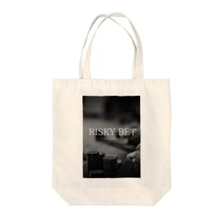 大博打 カジノ編 Tote bags