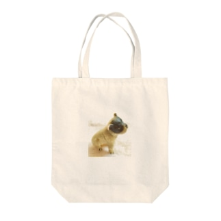 うつろなボストンテリアちゃん2 Tote bags
