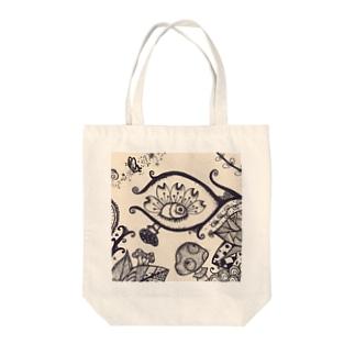 ボタニカル Tote bags