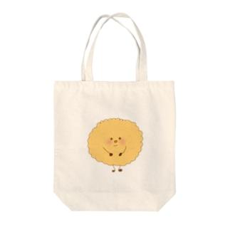 ビスケッちゃん Tote bags