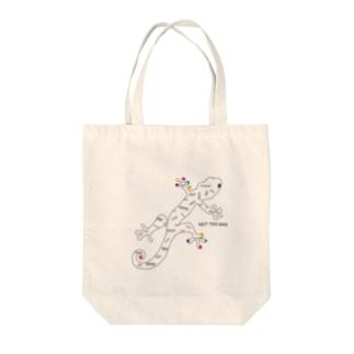 HAPPY ♡YAMORI Tote bags