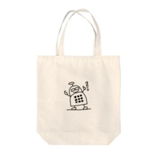 ブロックロボット・うーたーまん Tote bags