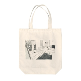 6畳の巣穴 Tote bags