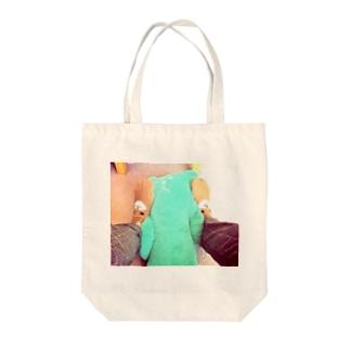 鈴木さんとくまさん Tote bags