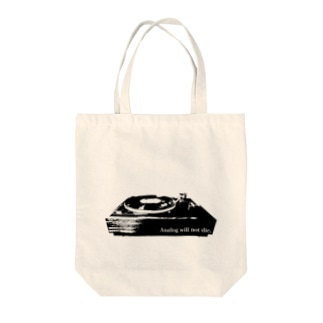 アナログレコード好きな人に Tote bags
