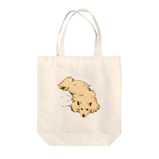 ハクムシ Tote bags