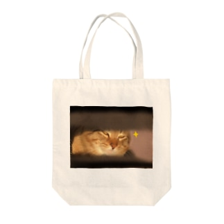 キラーン(ΦωΦ)フフフ… Tote bags