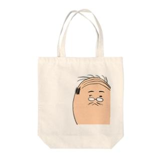 社畜おじさん Tote bags