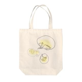海月〜イエロー〜 Tote bags