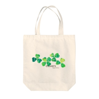 clovers. Tote bags