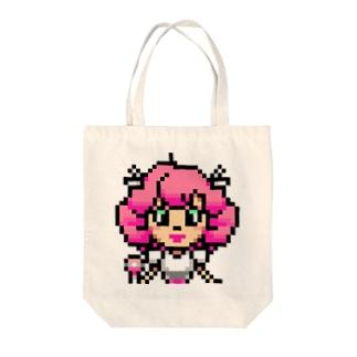 idol・モモダピンコ微笑みver. Tote bags
