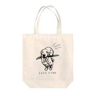 JAZZ聞きながらお散歩 Tote bags