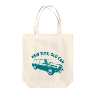 古い車とすごす新しい時間 Tote bags