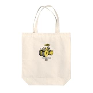 マカダムローラー Tote bags