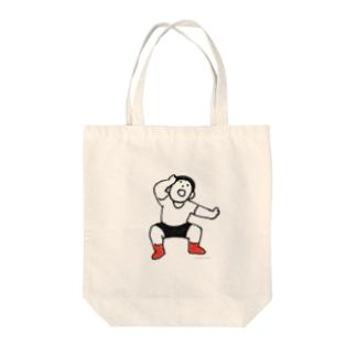 元気な人(おどろき) Tote bags