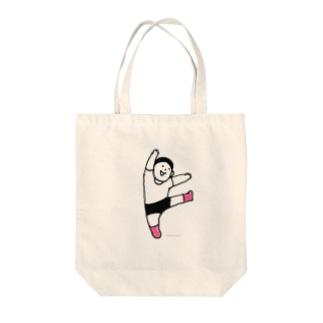元気な人(ダンス) Tote bags