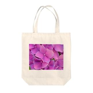 紫陽花。 Tote bags