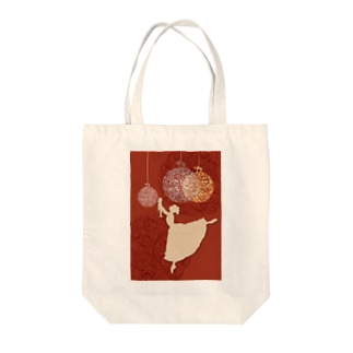 Yon's Workplaceのくるみ割り人形クララ Tote bags