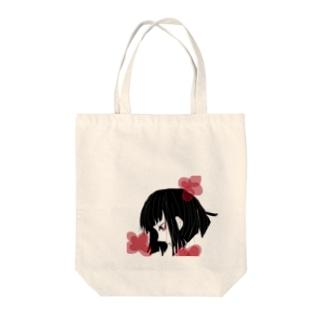 青リンゴのゆめかわいい女の子 Tote bags