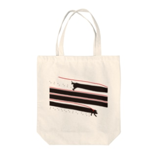 AURA_HYSTERICAのWalking_My_Dog Tote bags