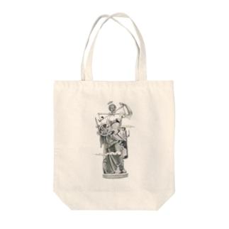 TAATUUSのPiTAGORA Tote bags