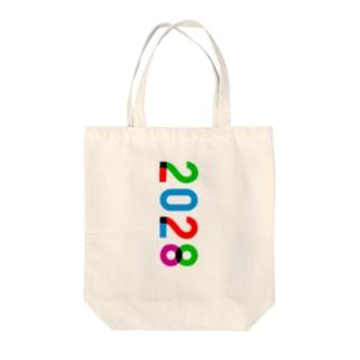 marikiroの2028_西暦 Tote bags