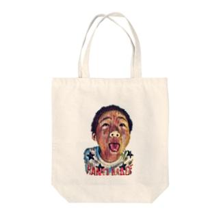 わんぱく少年 Tote bags