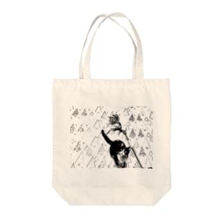 チェリー Tote bags