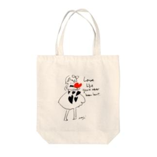 Love  Tote bags