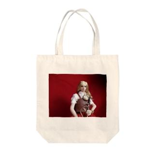 FUCHSGOLDの人形写真:ブロンド美少女の冒険者 Doll picture: Blonde adventurer Tote bags