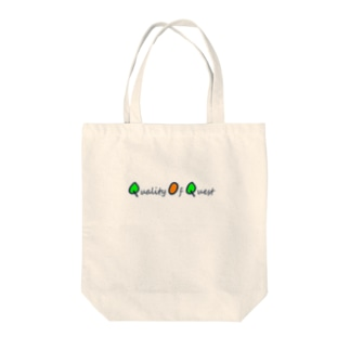 Quality Of Quest Tote bags