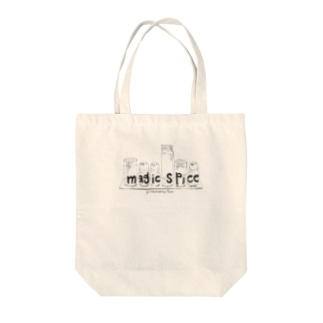 magic spice オリジナルトートバック Tote bags