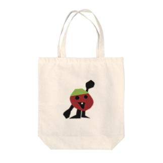 TOMOROKOSHIのパパトマさん Tote bags