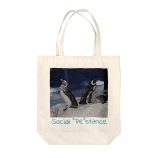 "Social ""Pe""stance Tote bags"