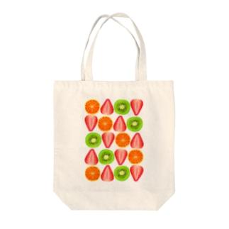 キウイとオレンジといちご Tote bags