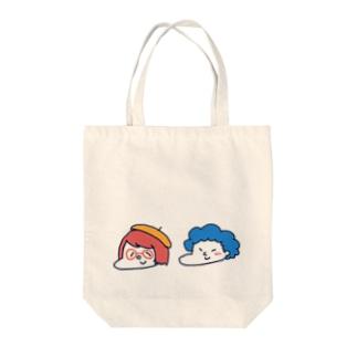 赤井さんと青井君 Tote bags