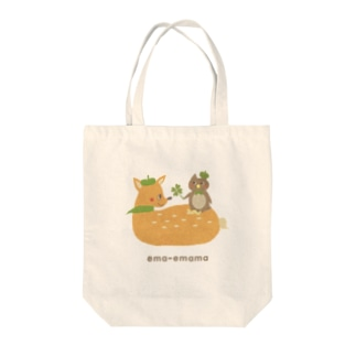 ema-emama『happiness-clover』 Tote bags