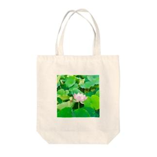 蓮の花 Tote bags