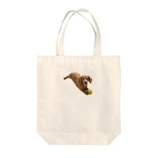 sukechan0000000の守る犬 Tote bags